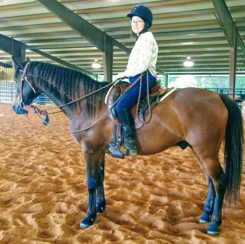 Julie and Randy Brent Graef horsemanship clinic 2019.jpg